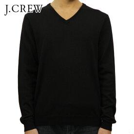 【販売期間 11/19 10:00〜11/26 09:59】 ジェイクルー セーター メンズ 正規品 J.CREW Vネックセーター ブラック