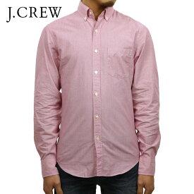 ジェイクルー シャツ メンズ 正規品 J.CREW 長袖シャツ ボタンダウンシャツ レッド D20S30