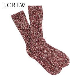 ジェイクルー J.CREW 正規品 ソックス SOCKS RED D35S45