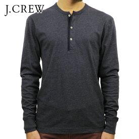ジェイクルー Tシャツ メンズ 正規品 J.CREW 長袖Tシャツ HEATHERED HENLEY D20S30