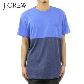 ジェイクルー Tシャツ 正規品 J.CREW 半袖Tシャツ SLIM TONAL COLORBLOCK TEE D20S30