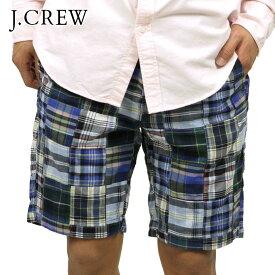 ジェイクルー ショートパンツ メンズ 正規品 J.CREW ボトムス 9 GRAMERCY SHORT IN PATCHWORK D20S30