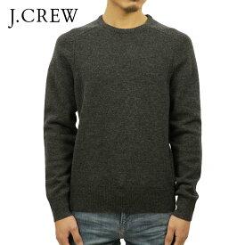 ジェイクルー セーター メンズ 正規品 J.CREW LAMBSWOOL CREWNECK SWEATER A9128