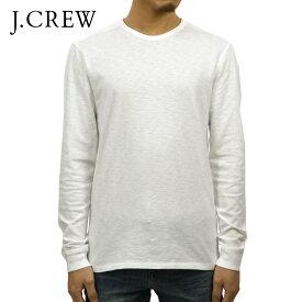 ジェイクルー Tシャツ メンズ 正規品 J.CREW 長袖Tシャツ LONG-SLEEVE TEXTURED COTTON T-SHIRT b4786 D00S20