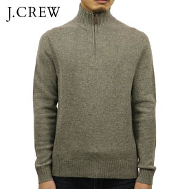ジェイクルー セーター メンズ 正規品 J.CREW LAMBSWOOL HALF-ZIP SWEATER 13956 D00S20