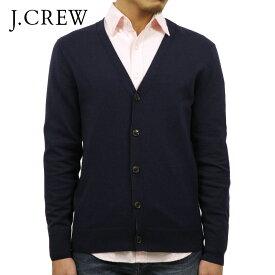 ジェイクルー セーター メンズ 正規品 J.CREW カーディガン CARDIGAN SWEATER IN PERFECT MERINO WOOL BLEND NAVY J7101