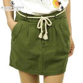 メゾンスコッチ MAISON SCOTCH 正規販売店 レディース スカート SHORT FITTED SKIRT WITH SAFARI DETAILS 144736 0360 51618 MILITAR