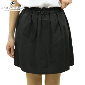 メゾンスコッチ MAISON SCOTCH 正規販売店 レディース スカート SHORT FITTED SKIRT WITH SAFARI DETAILS 144754 08 51619 BLACK