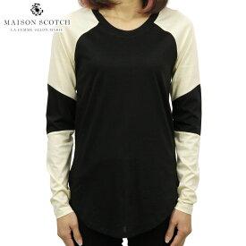 メゾンスコッチ MAISON SCOTCH 正規販売店 レディース 長袖Tシャツ CLUB NOMADE L/S TEE D 147747 17 COMBO A