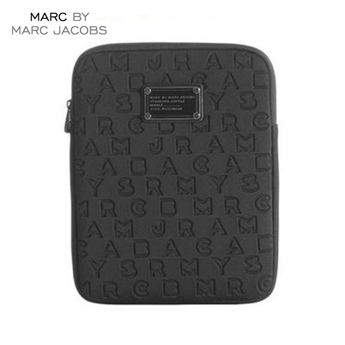 【15%OFFセール 8/17 10:00〜8/23 9:59】 マークジェイコブス MARCJACOBS 正規品 タブレットケース Dreamy Logo Neoprene Tablet Case BLACK