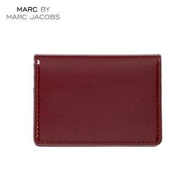 【販売期間 6/4 10:00〜6/11 09:59】 マークジェイコブス MARCJACOBS 正規品 財布 Patent Pending Wallet BURGUNDY D20S30 父の日