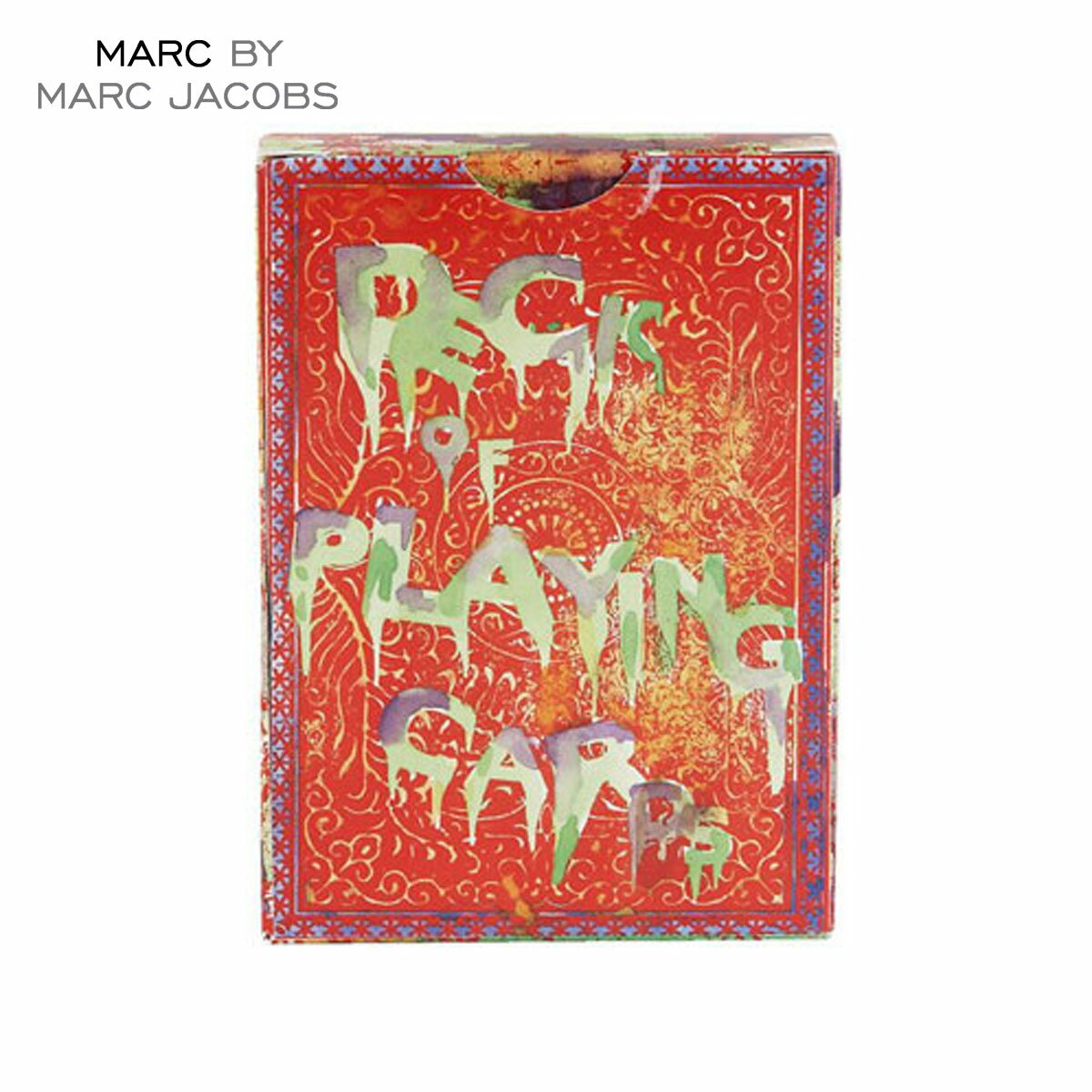 【35%OFFセール 8/17 10:00〜8/23 9:59】 マークジェイコブス MARCJACOBS 正規品 トランプ Vandal Playing Cards