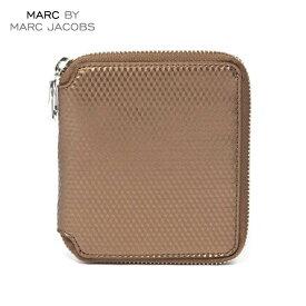 【販売期間 6/4 10:00〜6/11 09:59】 マークジェイコブス MARCJACOBS 正規品 財布 Cube Zip Wallet 4.5 x5.125 D20S30 父の日