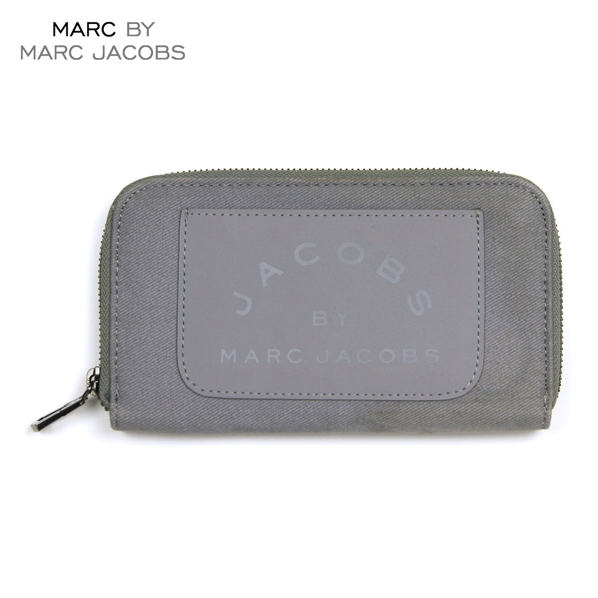 【販売期間 10/18 10:00〜10/26 9:59】 マークジェイコブス MARCJACOBS 正規品 財布 Laminated Twill Jacobs Long Zip Wallet (W19*H11cm) D15S25