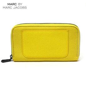 マークジェイコブス MARCJACOBS 正規品 財布 Laminated Twill Jacobs Long Zip Wallet (W19*H11cm) D20S30