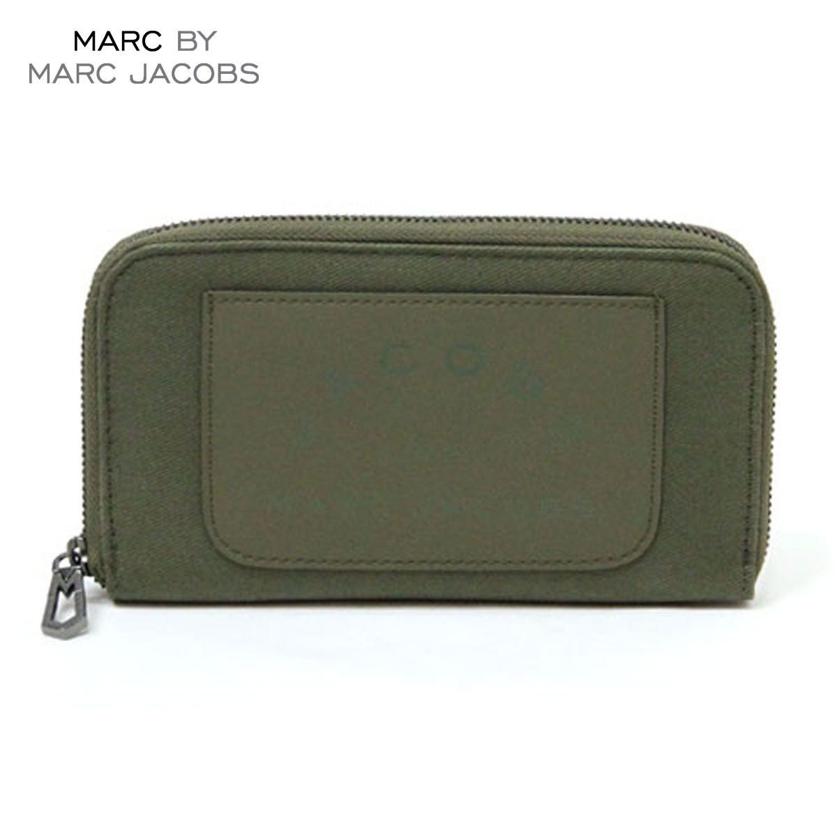 マークジェイコブス MARCJACOBS 正規品 財布 Laminated Twill Jacobs Long Zip Wallet (W19*H11cm) D20S30