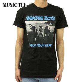 ミュージックティ バンドTシャツ メンズ 正規品 MUSIC TEE フォトT ロックTシャツ 半袖Tシャツ ビースティ・ボーイズ BEASTIE BOYS CHECK YOUR HEAD MUSIC TEE