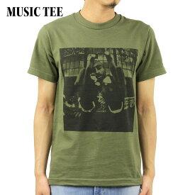 ミュージックティ バンドTシャツ メンズ 正規品 MUSIC TEE フォトT ロックTシャツ 半袖Tシャツ トゥーパック 2パック 2PAC BOLD ARMY MUSIC TEE