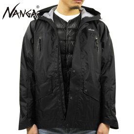 ナンガ オーロラ メンズ 正規販売店 NANGA ナイロンジャケット アウター シェルパーカー AURORA 3L FIELD SHELL PARKA BLACK