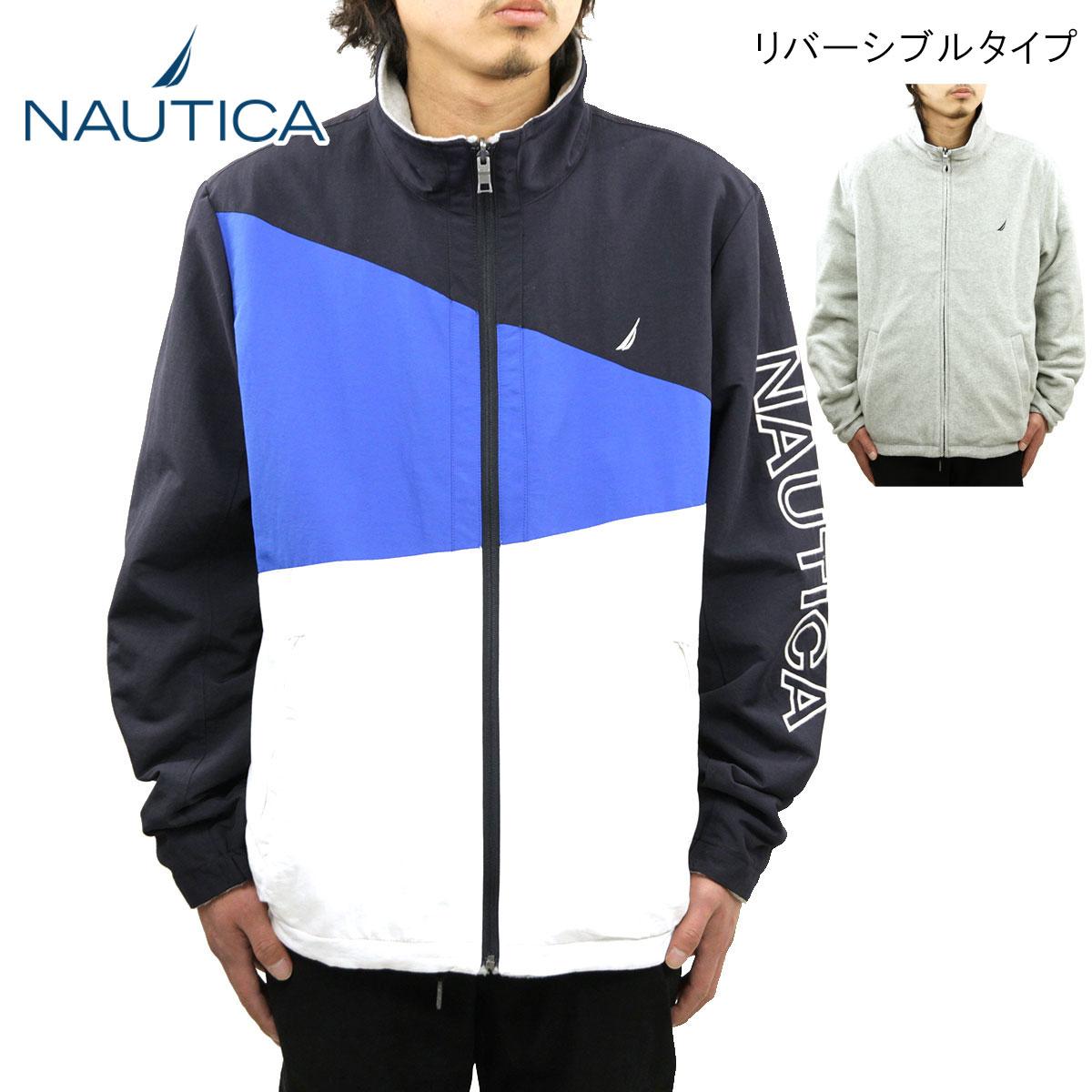 ノーティカ NAUTICA 正規品 メンズ アウタージャケット ZIP UP NYLON REVERSIBLE JACKET