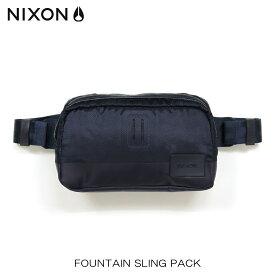 【ポイント10倍 4/9 20:00〜4/16 01:59まで】 ニクソン NIXON 正規販売店 バッグ Fountain Sling Pack NAVY NC1957307-00