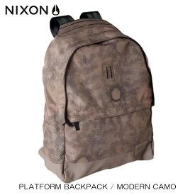 ニクソン NIXON 正規販売店 バッグ Platform Backpack CAMO NC12861195-00 D15S25