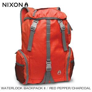 ニクソン NIXON 正規販売店 バッグ Waterlock Backpack II RED NC19521745-00 D15S25