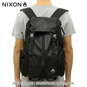 ニクソン NIXON 正規販売店 バッグ Waterlock Backpack II BLACK NC1952000-00 D15S25