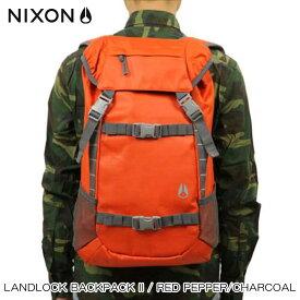 ニクソン NIXON 正規販売店 バッグ Landlock Backpack II RED NC19531745-00 D15S25