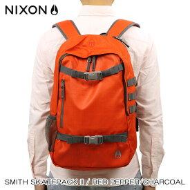 ニクソン NIXON 正規販売店 バッグ Smith Skatepack II RED NC19541745-00 D15S25