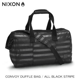ニクソン NIXON 正規販売店 バッグ Convoy Duffle Bag GREY-BLACK NC20071434-00 D15S25