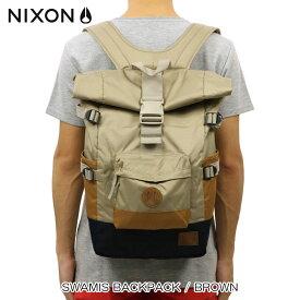 ニクソン NIXON 正規販売店 バッグ Swamis Backpack BROWN NC2187400-00 D15S25