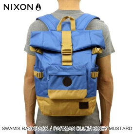 ニクソン NIXON 正規販売店 バッグ Swamis Backpack Parisian Blue / Honey Mustard BLUE