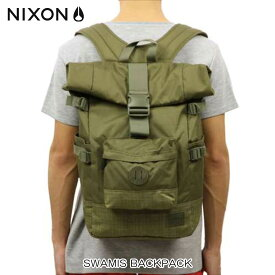 ニクソン NIXON 正規販売店 バッグ Swamis Backpack Surplus / Surplus Wash OLIVE NC21871736-00 D15S25