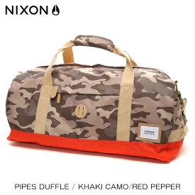 ニクソン NIXON 正規販売店 バッグ Pipes Duffle KHAKI NC21881717-00 D15S25