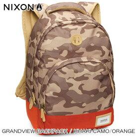 ニクソン NIXON 正規販売店 バッグ Grandview Backpack KHAKI NC21891717-00 D15S25