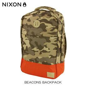 ニクソン NIXON 正規販売店 バッグ Beacons Backpack KHAKI NC21901717-00 D15S25