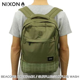 ニクソン NIXON 正規販売店 バッグ Beacons Backpack Surplus / Surplus Wash OLIVE NC21