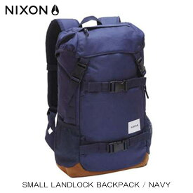 ニクソン NIXON 正規販売店 バッグ Small Landlock Backpack NAVY NC2256307-00 D15S25