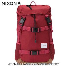 ニクソン NIXON 正規販売店 バッグ JP SMALL LANDLOCK/ DARK CHERRY NC22562329-00 D00S20