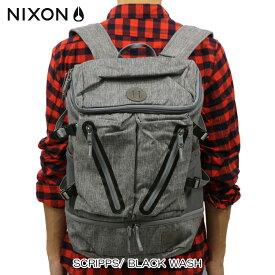 ニクソン NIXON 正規販売店 バッグ SCRIPPS/ BLACK WASH NC2605736-00 D00S20