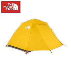 ノースフェイス THE NORTH FACE 正規品 ドーム型テント アウトドア STORMBREAK 2 CASTOR GREY / ARROWWOOD YELLOW