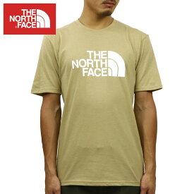 ノースフェイス Tシャツ メンズ 正規品 THE NORTH FACE 半袖Tシャツ クルーネックTシャツ SHORT-SLEEVE HALF DOME TEE TNF KHAKI