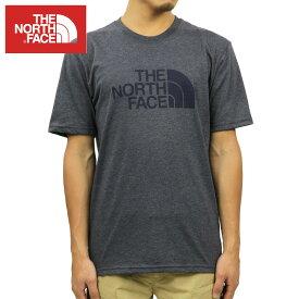 ノースフェイス Tシャツ メンズ 正規品 THE NORTH FACE 半袖Tシャツ クルーネックTシャツ SHORT-SLEEVE HALF DOME TEE TNF URBAN NAVY HEATHER