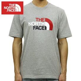 ノースフェイス THE NORTH FACE 正規品 メンズ クルーネック 半袖Tシャツ SHORT-SLEEVE HALF DOME TEE TNF GREY HEATHER