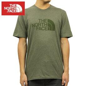 ノースフェイス Tシャツ メンズ 正規品 THE NORTH FACE 半袖Tシャツ クルーネックTシャツ SHORT-SLEEVE HALF DOME TEE TNF NWTPGHTR OLIVE