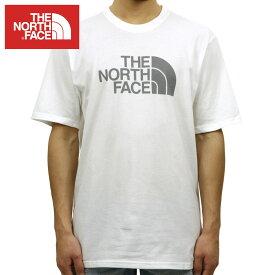 ノースフェイス THE NORTH FACE 正規品 メンズ クルーネック 半袖Tシャツ SHORT-SLEEVE HALF DOME TEE TNF WHITE NAUTCLBL