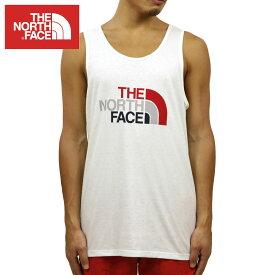 ノースフェイス タンクトップ メンズ 正規品 THE NORTH FACE 正規品 TRIBLND HALF DOME TANK TOP TEE TNF WHITE