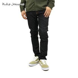 ヌーディージーンズ ジーンズ メンズ 正規販売店 Nudie Jeans ジーパン Long John Org. Twill Rinsed 035 1112870 D15S25
