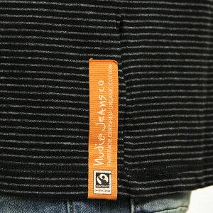 予約商品10月頃入荷予定ヌーディージーンズNudieJeansメンズ長袖TシャツOttoRaglanBlack/Grey131390